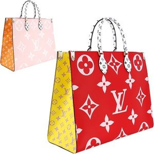 Louis Vuitton On The Go Onthego Tote Shoulder Bag